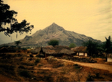 Sri arunacala - Der rote heilige Berg - Berg der Morgenröte, Südindien, Sri Ramana - Wer_fragt?