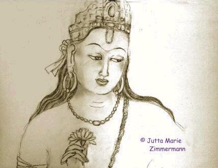 Bodhisattva_2_von_Jutta_Marie_Zimmermann
