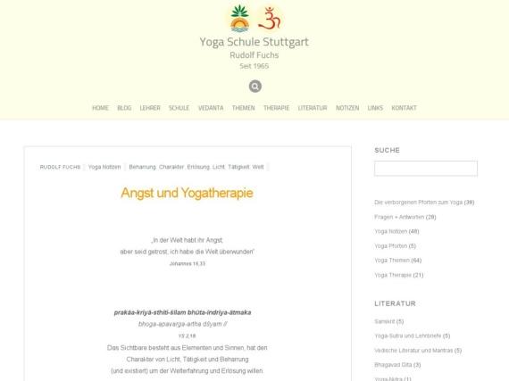 angst und yogatherapie