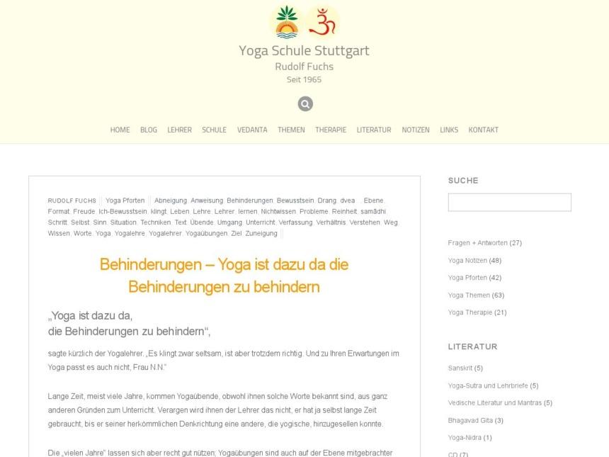 behinderungen yoga ist dazu da die behinderungen zu behindern