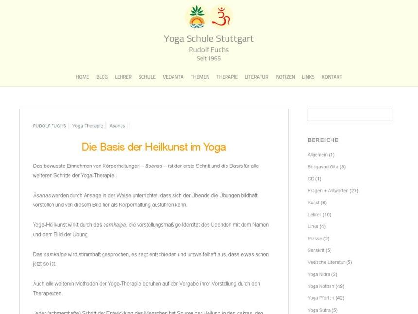 die basis der heilkunst im yoga