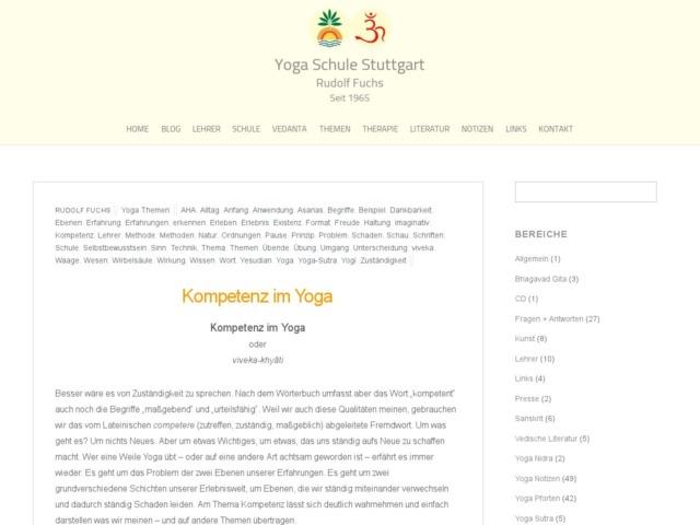 kompetenz im yoga