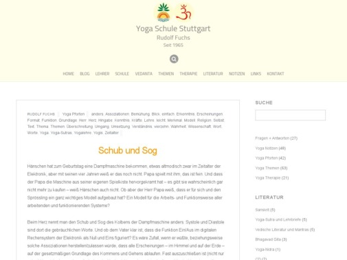 Selbsttest Yoga Schule Stuttgart