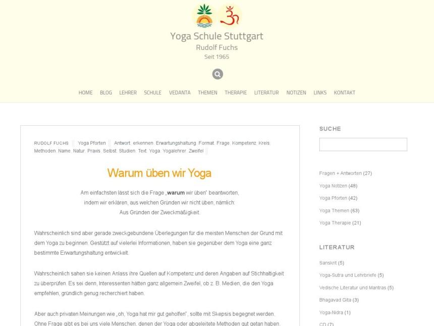 warum ueben wir yoga