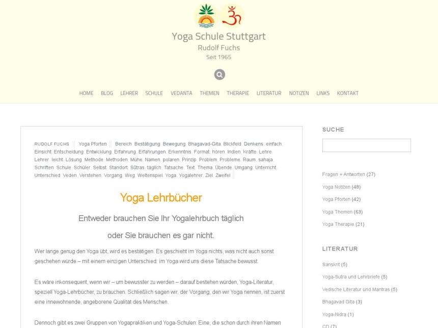 yoga lehrbuecher