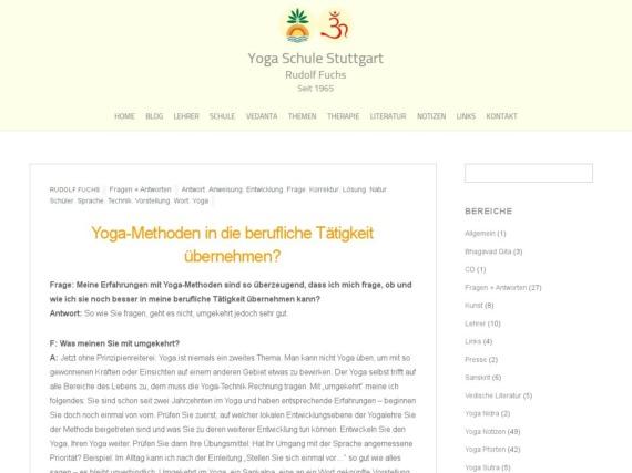 yoga methoden in die berufliche taetigkeit uebernehmen