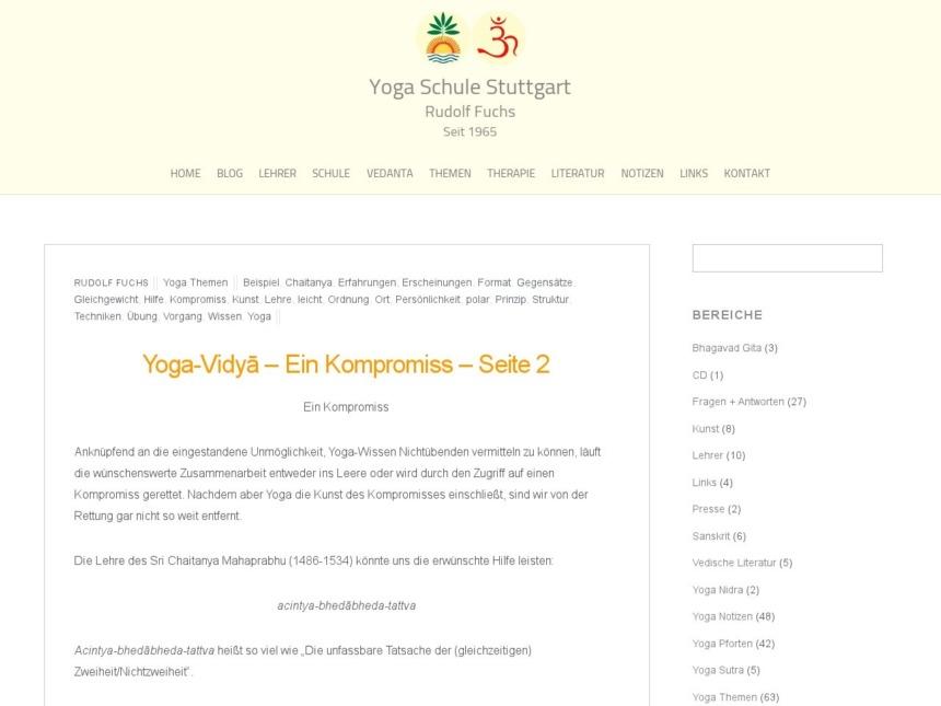 yoga vidya ein kompromiss seite 2