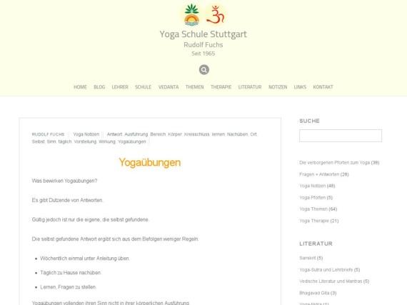 yogauebungen